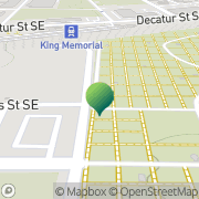 Map Oakland Cemetery Atlanta, United States