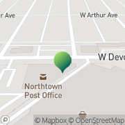 Map Us Post Office Chicago, United States