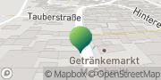 Karte GLS PaketShop Bieberehren, Deutschland