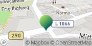 Karte GLS PaketShop Crailsheim, Deutschland