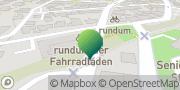 Karte GLS PaketShop Aalen, Deutschland
