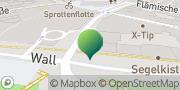 Karte GLS PaketShop Kiel, Deutschland