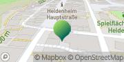 Karte GLS PaketShop Heidenheim, Deutschland