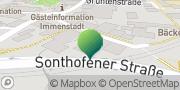 Karte GLS PaketShop Immenstadt im Allgäu, Deutschland