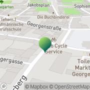 Karte Post Eisenach, Deutschland