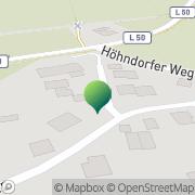 Karte Fischer-Kurierdienst Passade, Deutschland