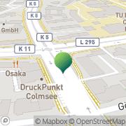 Karte Opexx World Wide Courier Braunschweig, Deutschland
