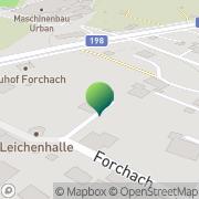 Karte Gemeindeamt Forchach Forchach, Österreich