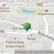 Karte Alte Post Hankensbüttel, Deutschland
