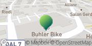 Karte GLS PaketShop Marktoberdorf, Deutschland