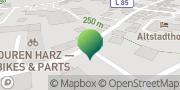 Karte GLS PaketShop Ilsenburg (Harz), Deutschland