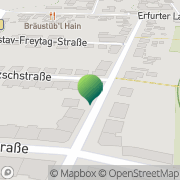 Karte Der Kurier Gotha, Deutschland