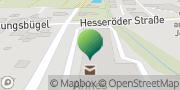 Karte GLS PaketShop Lützen, Deutschland
