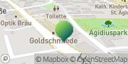 Karte GLS PaketShop Neusäß, Deutschland