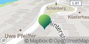 Karte GLS PaketShop Schönberg, Deutschland