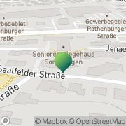 Karte Arche Noris Oberasbach, Deutschland