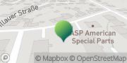 Karte GLS PaketShop Bünde, Deutschland