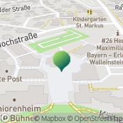 Karte Stadt Oberasbach Oberasbach, Deutschland