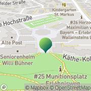 Karte Stadtbücherei Oberasbach, Deutschland