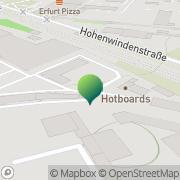 Karte LLS Brief + Paket Erfurt, Deutschland