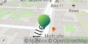 Karte GLS PaketShop Erfurt, Deutschland