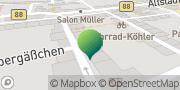 Karte GLS PaketShop Königsee, Deutschland