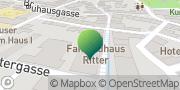 Karte GLS PaketShop Bad Frankenhausen/Kyffhäuser, Deutschland