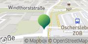 Karte GLS PaketShop Oschersleben (Bode), Deutschland