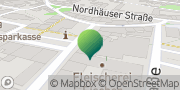 Karte GLS PaketShop Artern/Unstrut, Deutschland