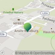Karte Gemeindeamt Natters Natters, Österreich