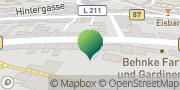 Karte GLS PaketShop Eckartsberga, Deutschland