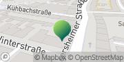 Karte GLS PaketShop Quickborn, Deutschland