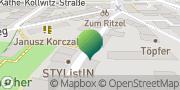 Karte GLS PaketShop Jena, Deutschland