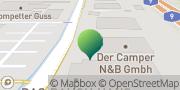 Karte GLS PaketShop Bindlach, Deutschland