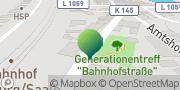 Karte GLS PaketShop Camburg, Deutschland