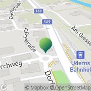 Karte Gemeindeamt Uderns Uderns, Österreich