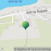 Kort Jystrup og Valsølille sogne Jystrup, Danmark