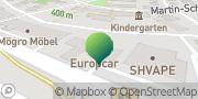 Karte GLS PaketShop Amberg, Deutschland