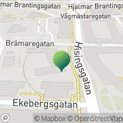 Karta Brämaregårdens Församling Göteborg, Sverige