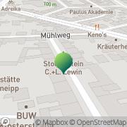 Karte MFM Hallescher Transport & Kurierdienst Halle, Deutschland