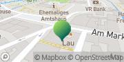 Karte GLS PaketShop Lübz, Deutschland