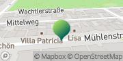 Karte GLS PaketShop Rostock, Deutschland