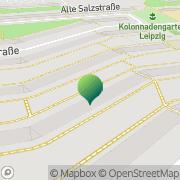 Karte Knippel Leipzig, Deutschland