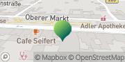 Karte GLS PaketShop Markneukirchen, Deutschland
