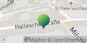 Karte GLS PaketShop Delitzsch, Deutschland