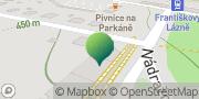 Map Františkovy Lázně - Městský úřad Františkovy Lázně, Czech Republic