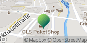 Karte GLS PaketShop Crimmitschau, Deutschland