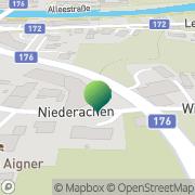 Karte SEDA - Umwelttechnik Kössen, Österreich