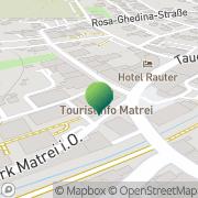 Karte Marktgemeinde Matrei in Osttirol Matrei in Osttirol, Österreich