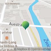 Karte - Gas Glauchau, Deutschland